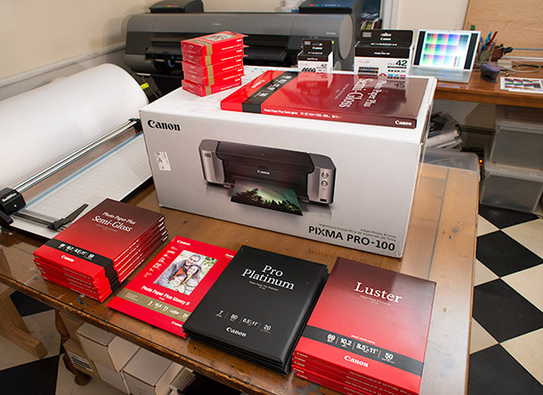 Canon Pixma Pro 100 Aardenburg Imaging And Archives